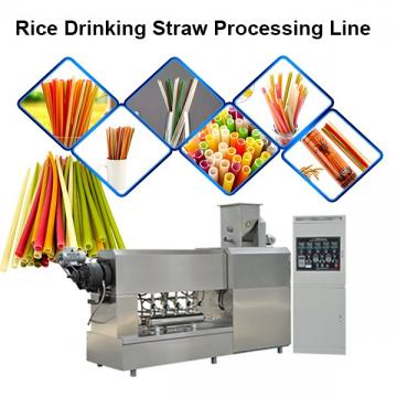 Automatic Eco Friendly Materials Biodegradable Straw Machine Extruder Production Line