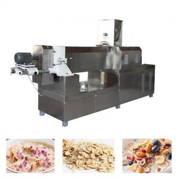 Corn Rice Flakes Snacks Plant Puffed Food Making Machine
