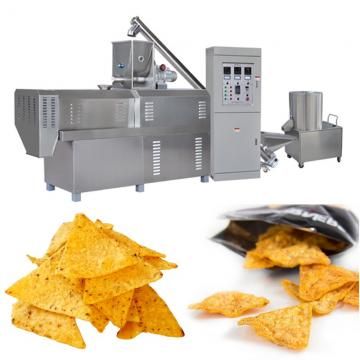 Puffed Corn Doritos Nacho Cheese Tortilla Chips Snacks Frying Machine with Electric Heating