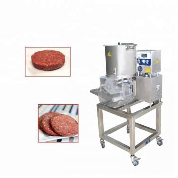 Automatic Square Stuffed Burger Patty Maker Hamburger Making Machine