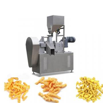 China Jinan Cheetos Niknaks Kurkure Chips Making Plant Equipment